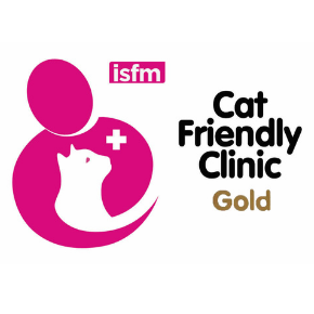 Apex Vets celebrates improving their Cat Friendly Clinic status to GOLD level